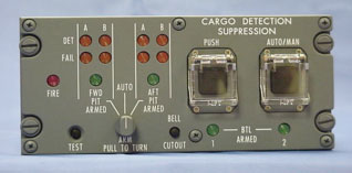 Aircraft Fire Protection System Control Panel from Advanced Aircraft Extinguishers, Inc.