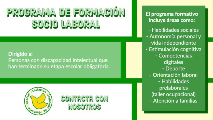 Programa de Formación Socio Laboral