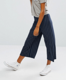 Pin Stripe Culotte