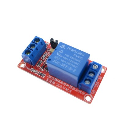 Relay module with octocopular support – 5V, 12, 24