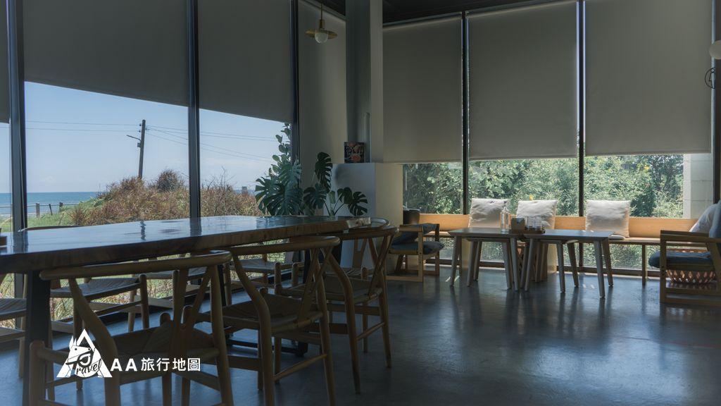 滿山望海一樓的用餐區