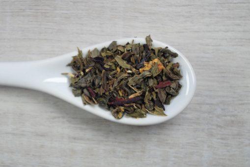 Strawberry Peach Mojito Ice Tea
