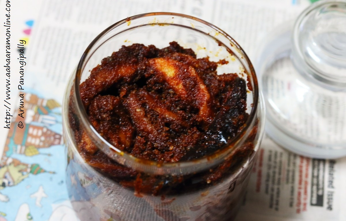 Magai is an Andhra Mango Pickle flavoured with Fenugreek