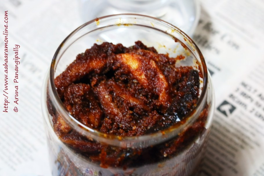 Magai | Magaya: Sun-dried Mango Pickle from Andhra Pradesh
