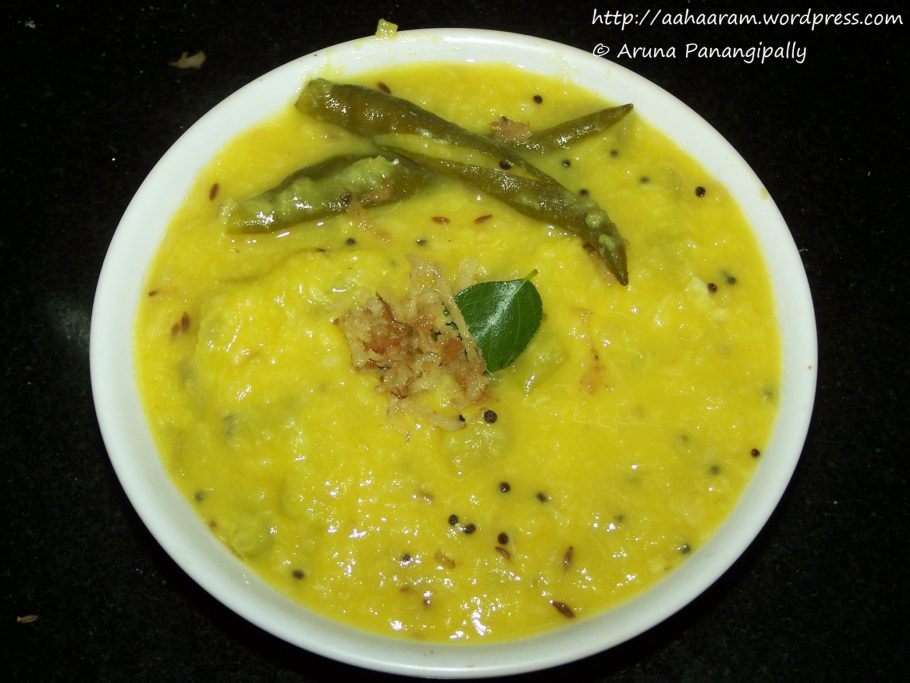 Anapakya Pesara Pappu Koora
