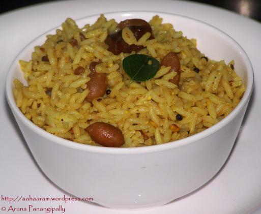 Chintapandu Pulihora - Tamarind Rice