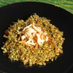 Sprouted Moong and Farsan