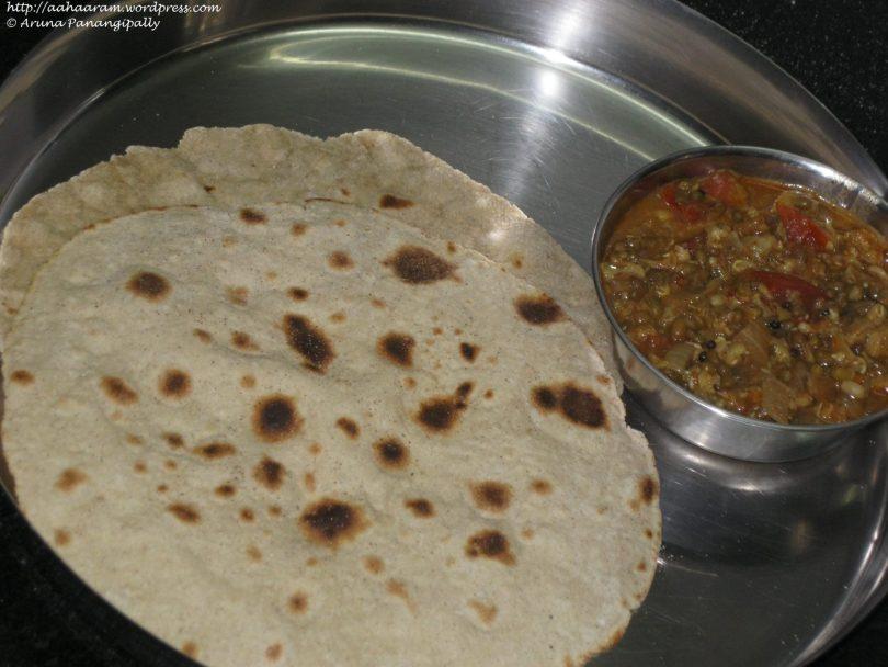 Bajre ki Roti or Pearl Millet Roti