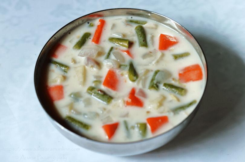 Kerala Vegetable Stew | Ishtew | Vegetables in Coconut Milk