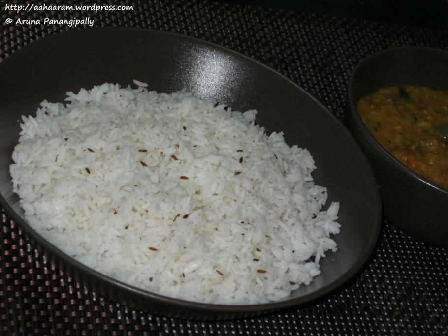 Jeera Rice or Rice with Cumin