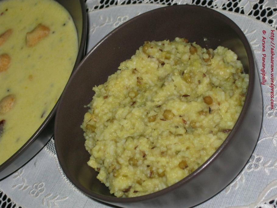 Moong Dal Kichadi
