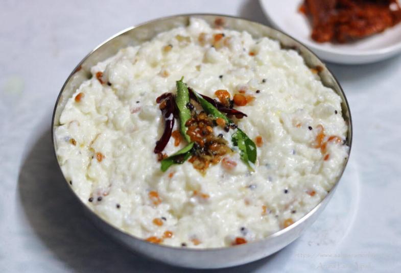 The Perfect Curd Rice | Daddojanam | Thayir Sadam