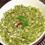 French Beans Poriyal or Thoran