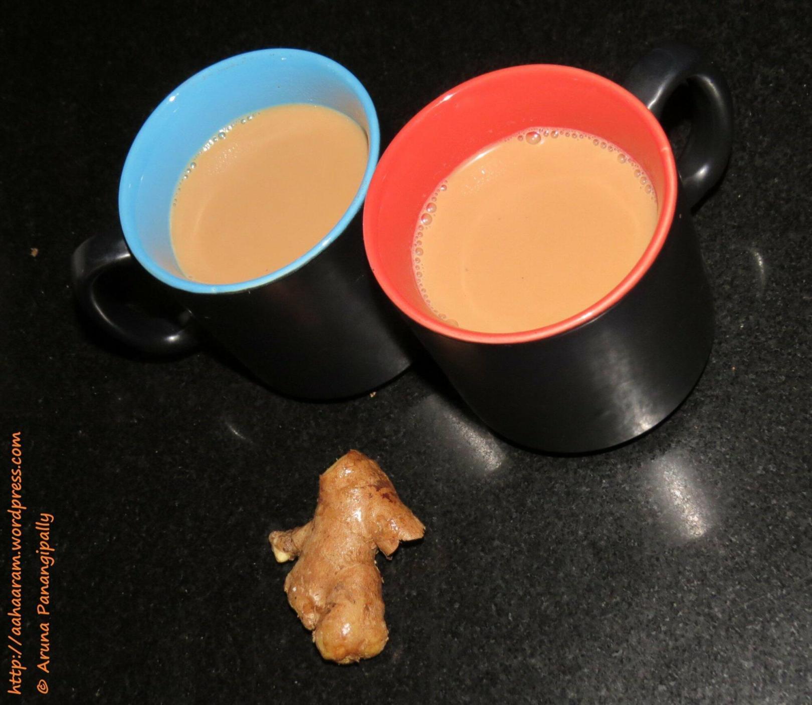 Adrak Wali Chai or Ginger Tea