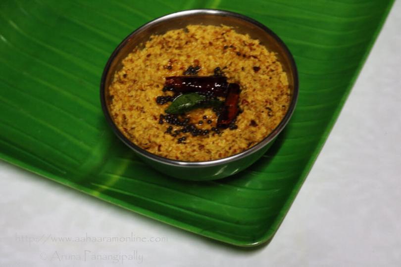 Andhra Kobbari Pachadi