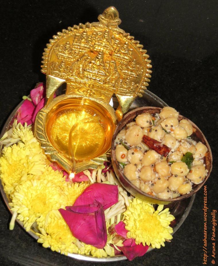Chickpea Sundal | Konda Kadalai Sundal