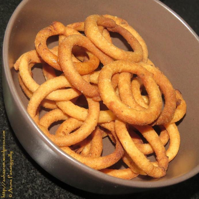 Chegodi or Rice Flour Rings