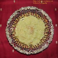 Ksheerannam (Rich Rice and Milk Pudding)