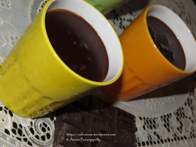 Ciccolata Calda or Italian Hot Chocolate