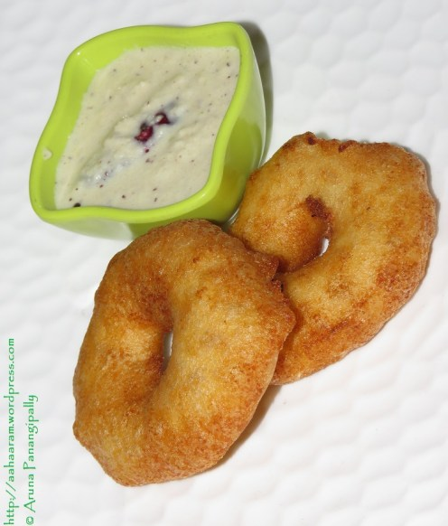 Garelu, Medu Vada or Ulundu Vadai