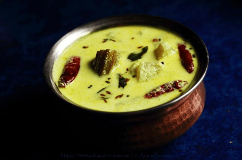 Majjiga Pulusu | Mor Kuzhambu | Andhra Kadhi (With Coconut)