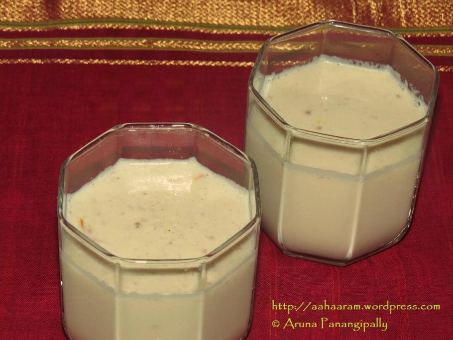Thandai - Holi and Maha Sivaratri Special