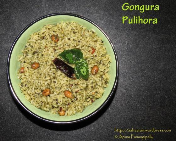 Gongura Pulihora