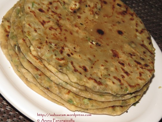 Paneer Paratha with a Twist
