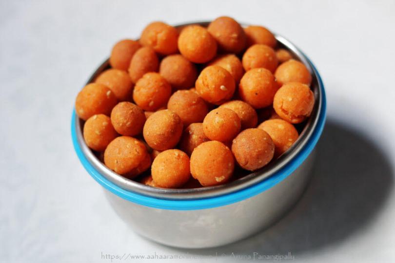 Palakayalu   Deep-fried Rice Flour Balls from Andhra Pradesh