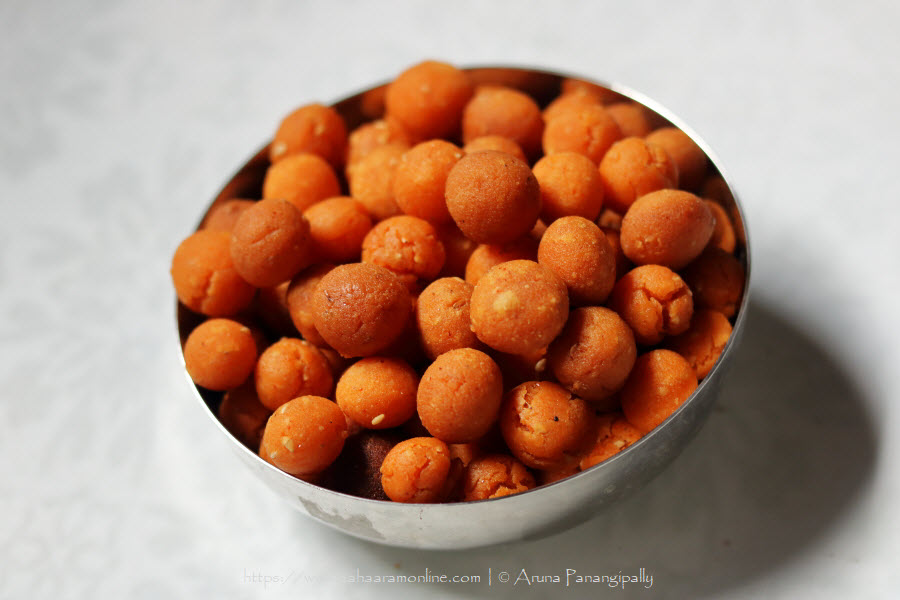Palakayalu   Crispy, Fried Rice Flour Dough Balls from Andhra Pradesh