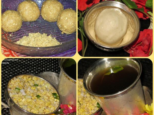 Nagula Chavithi Naivedyam: Chimmili, Chalimidi, Vada Pappu and Panakam