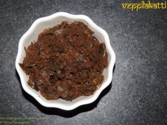Veppilakatti - Spicy Lemon Leaves Chutney