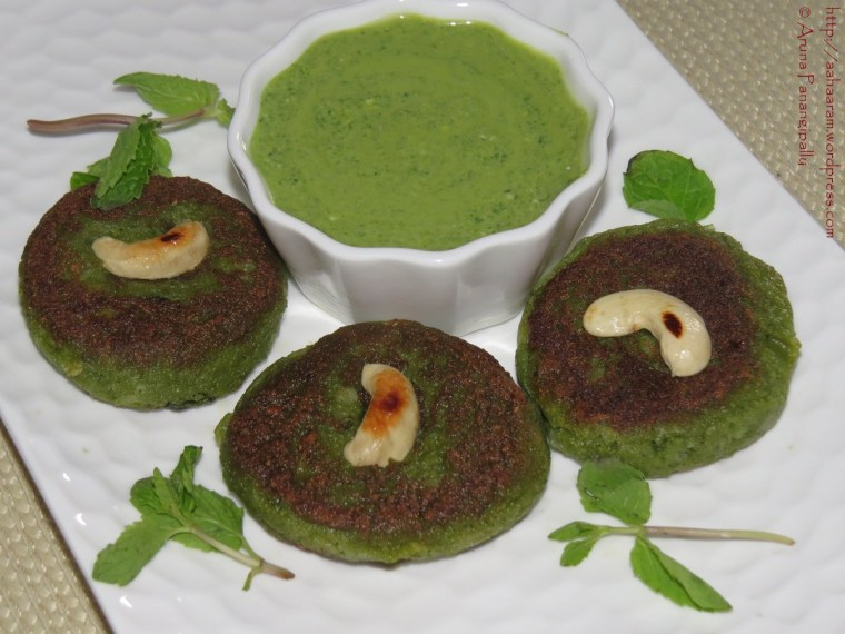 Hara Bhara Kabab (Spinach, Potato and Peas Kebab)