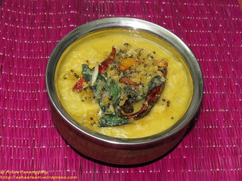 Konkani Style Mango Dal   Ambli Daali