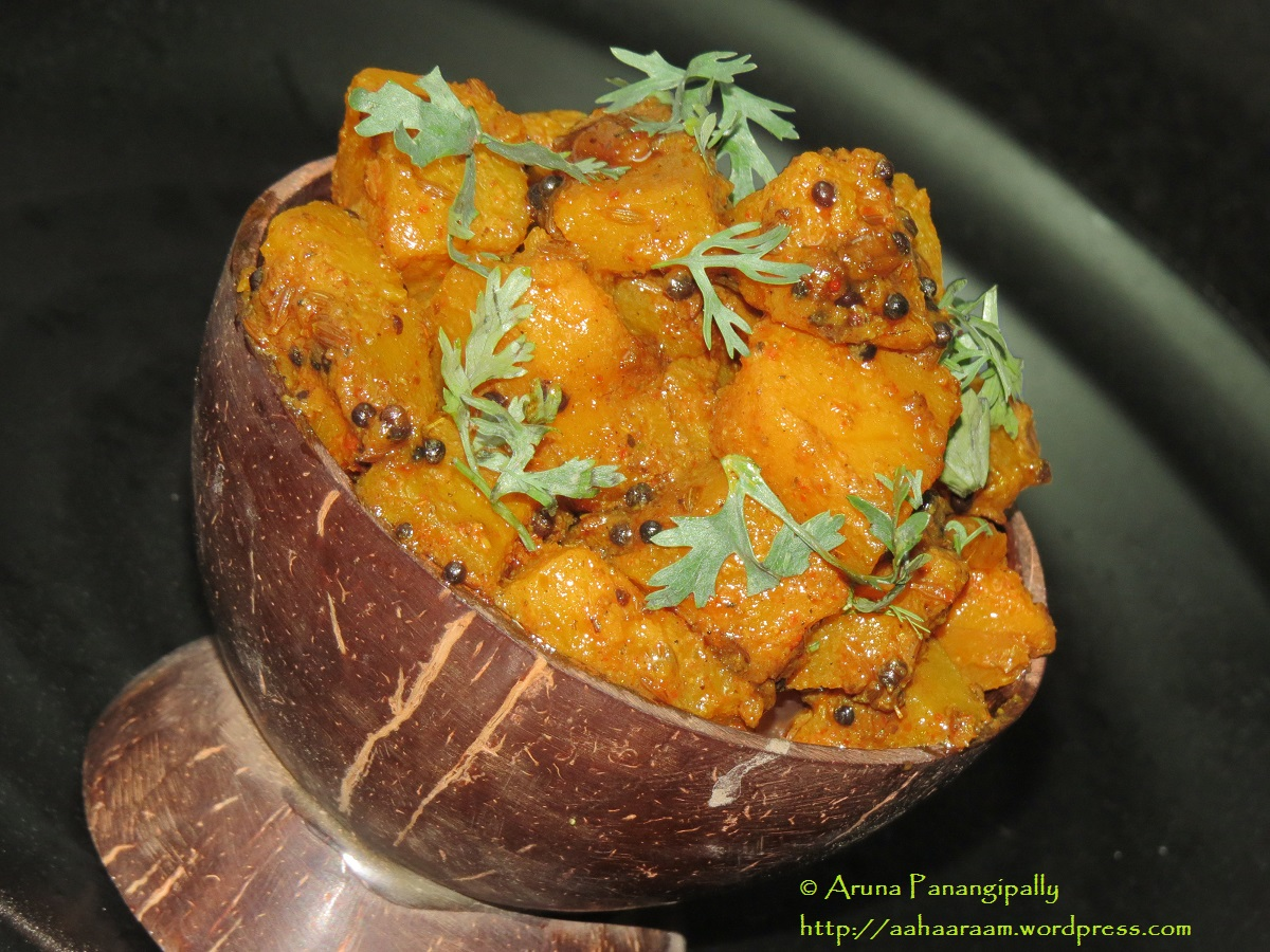 Khatti Meethi Teekhi Kaddu ki Sabzi - Punjabi Recipe
