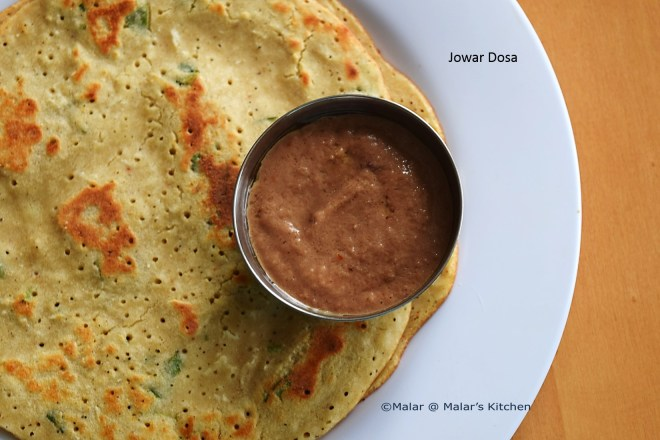 Jowar Dosa - Healthy Recipe