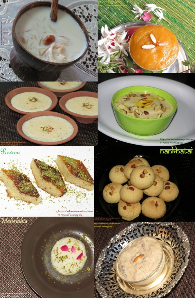 Dessert Recipes for Ramzan aka Ramadan
