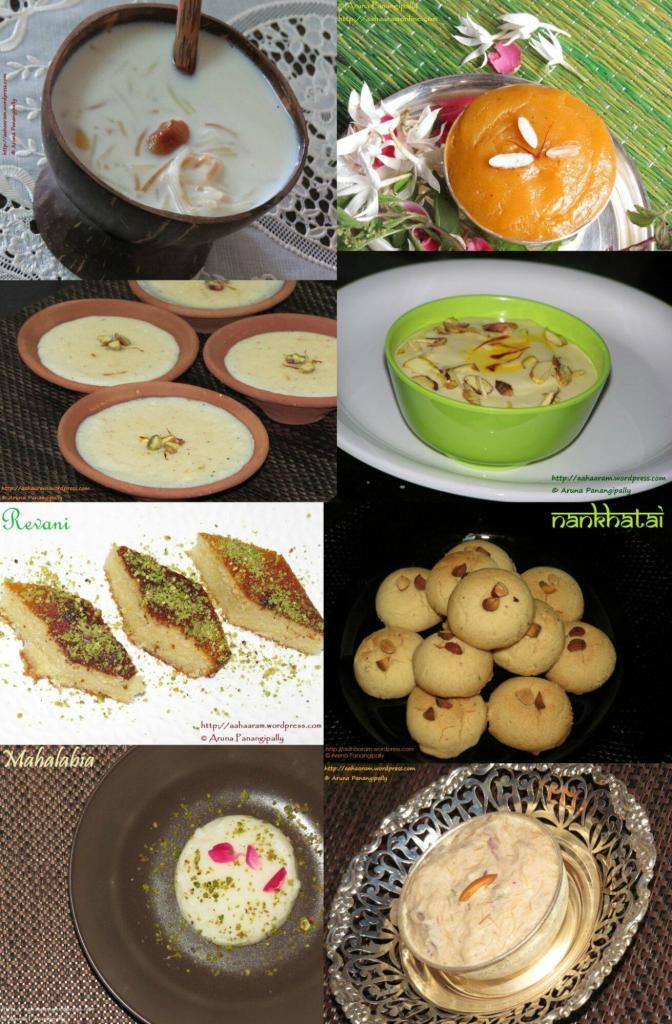 Dessert Recipes for Ramzan aka Ramadan