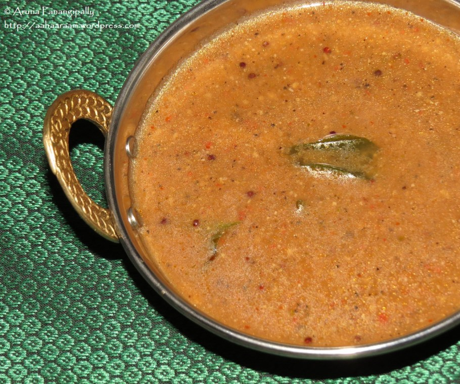 Milagu Kuzhambu - Hot Pepper Gravy from Tamil Nadu