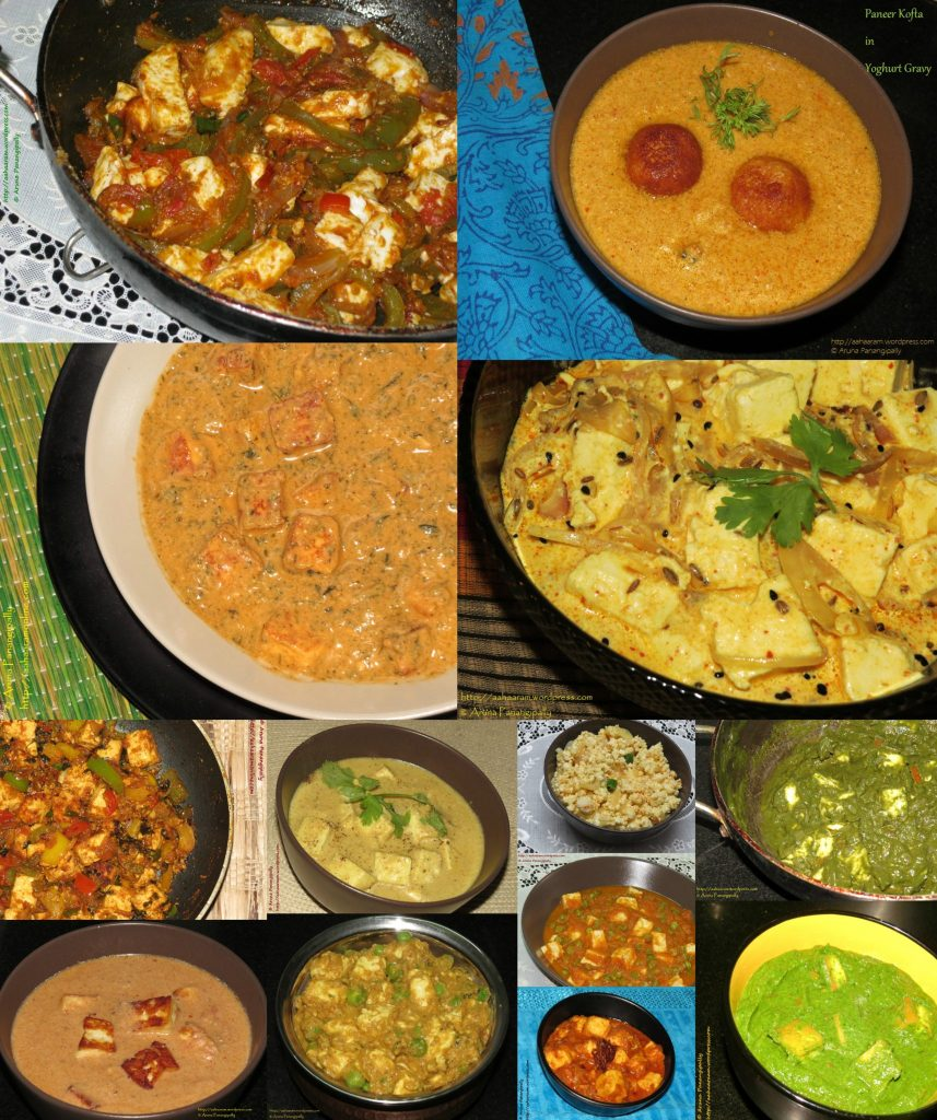 A Collection of Paneer Recipes