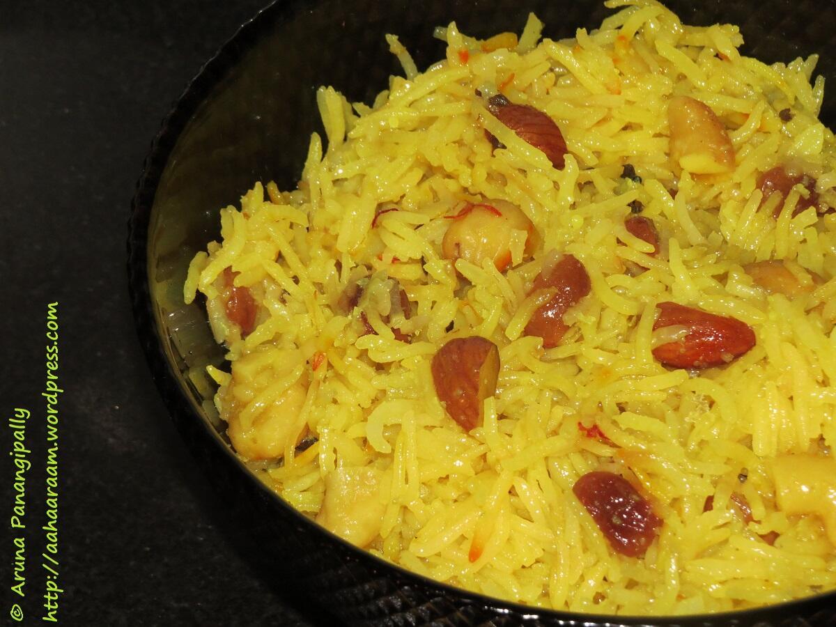 Zarda recipe meethe chawal recipe sweet rice
