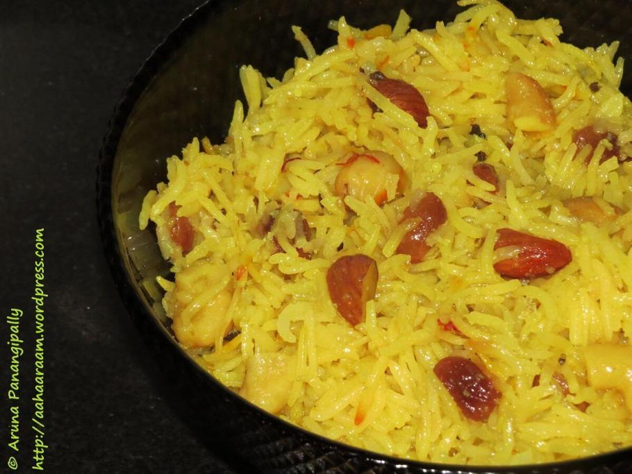 Meethe Chawal, Zarda Pulao, Eid Recipe, Ramzan, Ramadan
