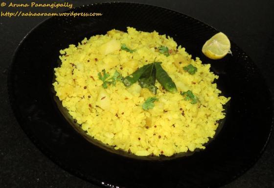 Batata Pohe or Potato Poha - No Onion, No Garlic