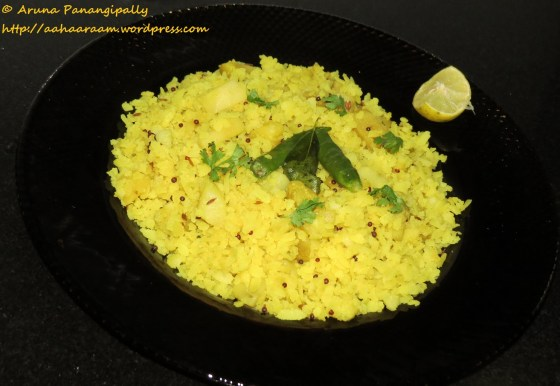 Batata Pohe or Potato Poha - No Onion, No Garlic