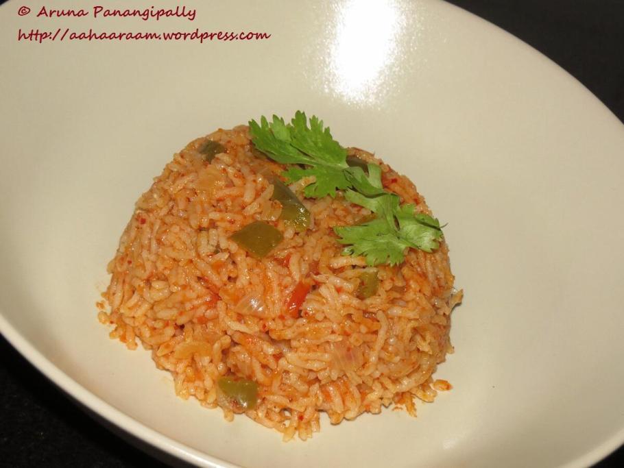 Tomato Rice, Tomato Annam or Thakkali Sadam