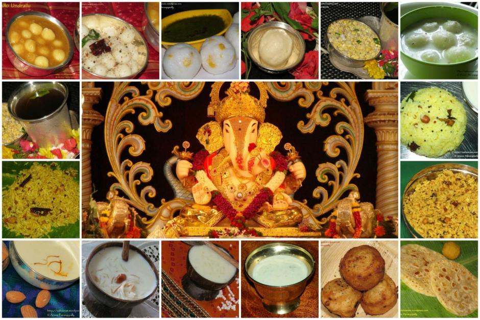 Vinayaka Chavithi Ganesh Chaturthi Naivedyam Recipes