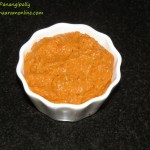 Red Capsicum Chutney or Red Bell Pepper Pachadi