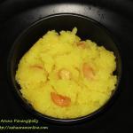 Pineapple Kesari or Pineapple Sheera