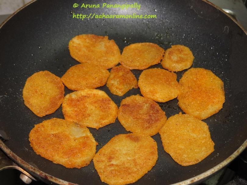 Batata Kaap - Crisy Slice Potatoes from Maharashtra