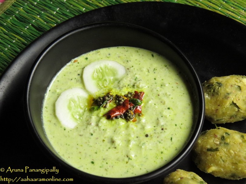 Southekayi Hasi Majjige Huli – Cucumber in Spicy Yogurt – Guest Post by Roopa Belur